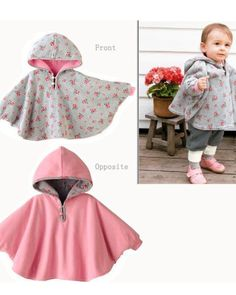Elegant and adorable.  This hoodie cape with hood from Fuloon is just $28.99.  Order them now at  http://ilovebabyclothes.com/?product=fuloon-newborn-baby-toddler-girl-hoodie-cape-coat-snowsuit-jumpsuit-for-spring-or-autumn
