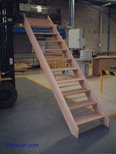 Parana Pine Openplan Staircase