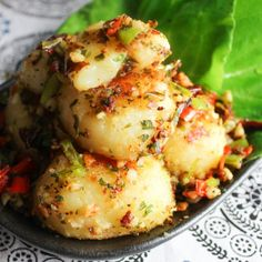 Tasty Cumin Pan-seared Potato from Spice the Plate.