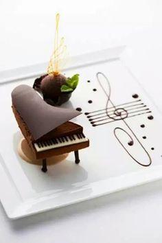 Piano de chocolate
