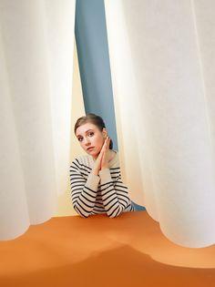 Lena Dunham for TIME Magazine by Lee Towndrow, via Behance