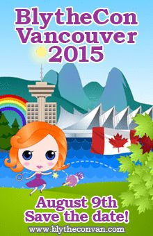 Tickets for BlytheCon Vancouver are ON SALE at Brown Paper Tickets! #blytheconvancouver