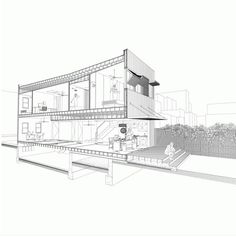 Section of the Brooklyn Row House Architect: Office of Architecture Brooklyn, NY, USA   2014