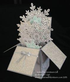 Festive Flurry Card in a box - Kirsteen Gill (TX & Scotland!)