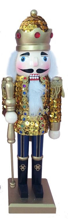 Find the perfect 12-inch wooden Nutcracker for you at NutcrackerBalletGifts.com. Explore the many unique options at Nutcracker Ballet Gifts.