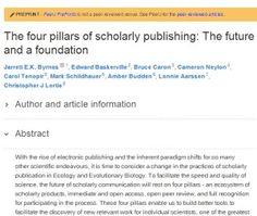 Artigo propõe quatro pilares para a comunicação científica favorecer a velocidade e a qualidade da ciência | SciELO em Perspectiva