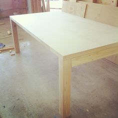 Easy to make desk.