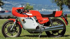 """It is unlikely that MV Agusta's run of 17 consecutive Grand Prix world championships will ever be equaled, let alone beaten. From 1958 to 1974, the bright red """"fire engines"""" of Meccanica Verghera Agusta dominated the premier 500cc class. Photo and article by Robert Smith. (Motorcycle Classics Jan/Feb 2013)"""