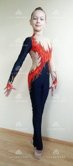 Competition Rhythmic Gymnastics costume Acro costume Roller