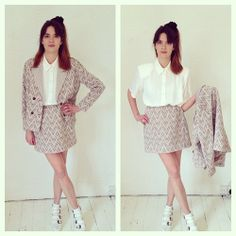 cute two piece jacket and skirt combo £40