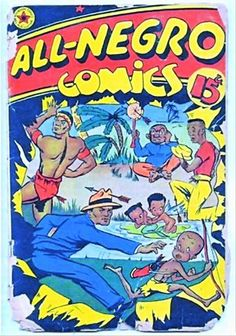 negro comics - Google Search