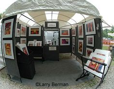 Art Show Booth, formatting images for ZAPP, Juried Art Services and to get 35mm digital slides