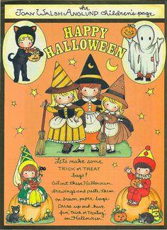 Joan Walsh Anglund Halloween