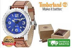 Relógio Timberland TBL-03-GS-14324JS- Marca: Timberland- Caixa de aço inoxidável- Mostrador azul- Exibição da data- Diâmetro  48mm- Movimento de quartzo- Cristal mineral- Caixa de oferta, pode ser ligeiramente diferente da foto- Resistente à água até 5 ATM / 50 metros