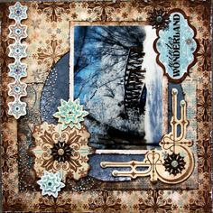Snowfall Collection Debbie Sherman Scrapbook Layout Sketches, Scrapbooking Layouts, Scrapbook Cards, Christmas Scrapbook Pages, Winter Wonderland, Bunny, Paper Crafts, Project Life, Bb
