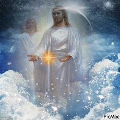 Jesus is coming soon! Christ The King, King Jesus, Jesus Is Lord, Jesus And Mary Pictures, Pictures Of Jesus Christ, Heaven Pictures, Peace Poster, Cross Pictures, Templer