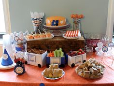 Trains Birthday Party Ideas | Photo 1 of 23 | Catch My Party