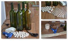 Reciclagem de garrafas de vinho: veja como fazer!