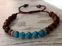 Jasper Bracelet Beaded Bracelets Handmade Bracelet by tovvanda