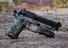 Berreta, Pistol, inforce, sal.gunz guns, weapons, self defense, protection, 2nd amendment, America, firearms, munitions #guns #weapons