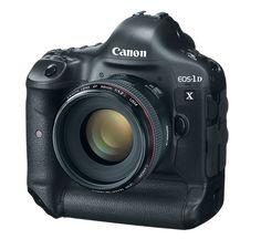 Digital SLR Cameras images | Canon EOS-1D X Digital SLR Camera. Image Courtesy of Canon.