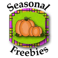 """Seasonal Freebies for Teachers Scoop it - online """"newsletter"""" with a collection of free seasonal resources from different websites"""