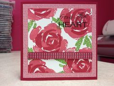 Roses in Winter Card