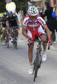 Joaquim Rodriguez (Katusha) attacks Contador and Froome  Photo: © Roberto Bettini