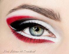 Makijaż: Graficzny Tricolor - SNOBKA