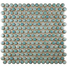 You'll love the Penny 0.8 x 0.8 Porcelain Mosaic Tile in Marine at Wayfair - Great Deals on all Kitchen & Dining products with Free Shipping on most stuff, even the big stuff.