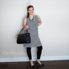 This stripe breastfeeding dress is going to be all the rage this summer! Comes in teal and red too!