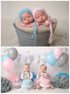 Mn Baby Photographer Twins Cake Smash My Photography