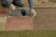 How To Lay Paving Slabs Learn How To Lay Paving Slabs To Create A Garden  Path With The Step By Step Instructions In This Handy Garden Paths.