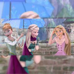 This is so perfect ❤ Frozen And Tangled, Disney Frozen, Jelsa, Disney Girls, Disney Art, Disney And Dreamworks, Disney Pixar, Anna Et Elsa, Modern Disney
