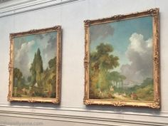 Blindman's Bluff and The Swing, by Jean Honoré Fragonard c. 1775/1780