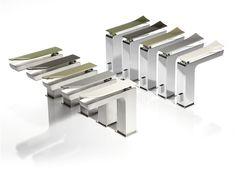 TWEET | Miscelatore per lavabo monocomando by RUBINETTERIE RITMONIO | design Lana Savettiere architetti