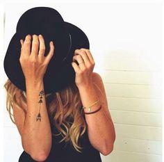 Arrow tattoo: i love the arrow tattoo and all it symbolizes- too pretty!