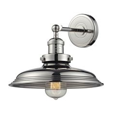 Newberry 1 Light Wall Sconce In Polished Nickel 55010/1