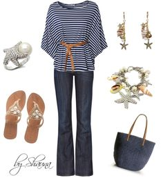 """""""Dinner at the beach"""" by shauna-rogers on Polyvore"""