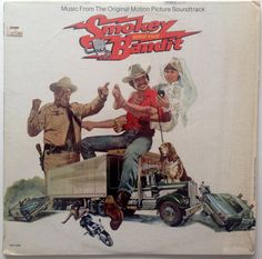 Smokey and the Bandit Soundtrack LP Vinyl Record Album MCA Records - Soundtrack 1977 Original Pressing Vinyl Records For Sale, Vinyl Sales, Vintage Vinyl Records, Lp Vinyl, Jerry Reed, Don Williams, Jackie Gleason, Smokey And The Bandit, Comedy Films