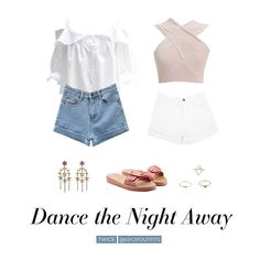 Outfits inspired by Dance the Night Away by TWICE All items can be found on my Shoplook account here and here MASTERLIST Kpop Fashion Outfits, Hip Hop Outfits, Stage Outfits, Korean Outfits, Dance Outfits, Korean Fashion Trends, Korean Street Fashion, Streetwear Mode, Streetwear Fashion