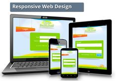 responsive web design for better visibility