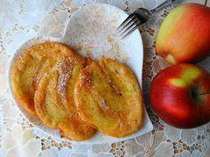 Racuszki z Jabłkami na Serku Homogenizowanym. French Toast, Breakfast, Food, Morning Coffee, Eten, Meals, Morning Breakfast, Diet