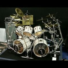 Wicked Drum Rack (looks like an upside down spider)