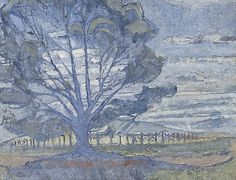 Willunga landscape, (circa 1947) by Horace Trenerry :: The Collection :: Art Gallery NSW