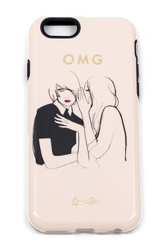 OMG! Give your phone some effortlessly chic style with a Garance Doré designed case for the iPhone 6. + This beauty has tons of little extras like grip sides and a raised rubber front. $36