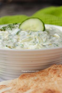 This authentic Greek tzatziki recipe is easy to make and pairs perfectly with just about any dipper! I love using homemade tzatziki sauce to dip pita bread, veggies, or added to Greek gyros! Tzatziki Sauce Recipe Greek Yogurt, Homemade Tzatziki Sauce, Tzatziki Recipes, Greek Yogurt Recipes, Cucumber Recipes, Easy Appetizer Recipes, Best Appetizers, Low Calorie Recipes, Mediterranean Recipes