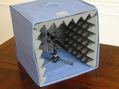 makeshift recording home for your microphone