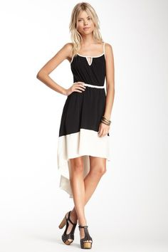 Two-Tone Hi-Lo Dress by Willow & Clay on @HauteLook
