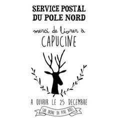 baluchon personnalisable Noël - marcel et lily